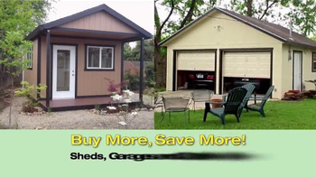 Tuff Shed TV Spot, 'Magnetic Attraction to Quality' - Thumbnail 6