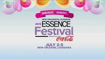 Essence Magazine TV Spot, '2015 Essence Festival' - 52 commercial airings