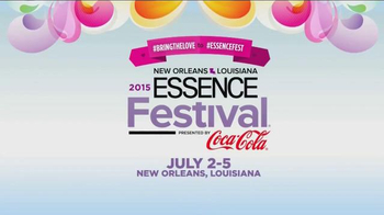Essence Magazine TV Spot, '2015 Essence Festival' - 52 commercial airings