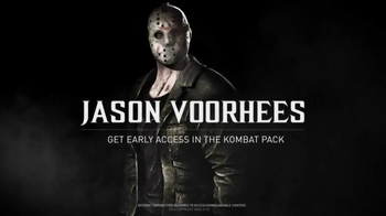 Mortal Kombat X TV Spot, 'Jason Vorhees'