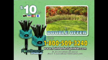 Point Perfect Sprinkler TV Spot, 'Intelligent Sprinkler' - Thumbnail 8