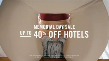 Travelocity Memorial Day Sale TV Spot, '40 Percent Swedisher' - Thumbnail 9