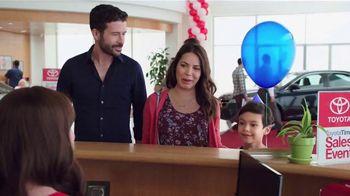 Toyota Time Sales Event TV Spot, 'Balloon Animal'