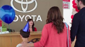 Toyota Time Sales Event TV Spot, 'Balloon Animal' - Thumbnail 1