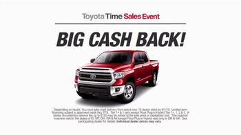 Toyota Time Sales Event TV Spot, 'Balloon Animal' - Thumbnail 7