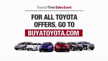 Toyota Time Sales Event TV Spot, 'Balloon Animal' - Thumbnail 8