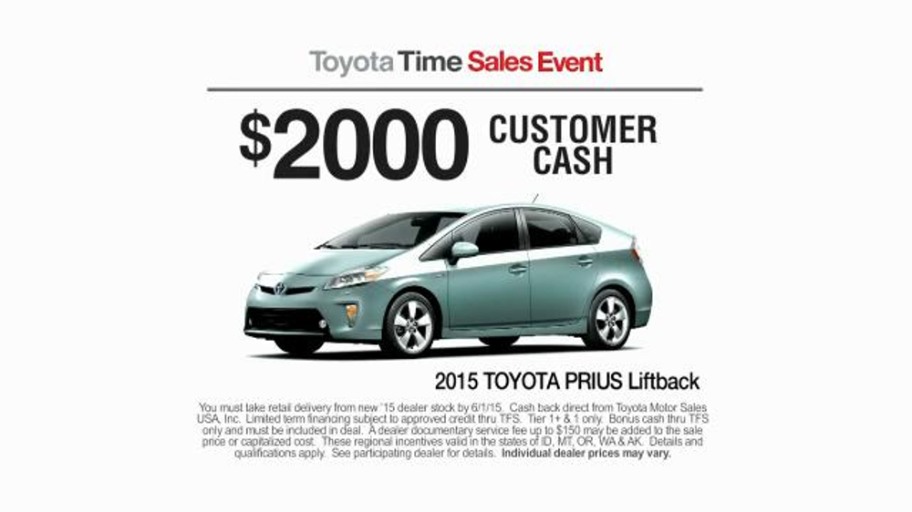2015 toyota prius liftback tv commercial 39 toyota time sales event drone 39. Black Bedroom Furniture Sets. Home Design Ideas