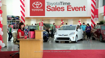 2015 Toyota Prius Liftback TV Spot, 'Toyota Time Sales Event: Drone' - Thumbnail 1
