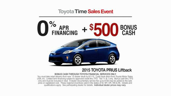 2015 Toyota Prius Liftback TV Spot, 'Toyota Time Sales Event: Drone' - Thumbnail 7