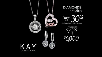 Kay Jewelers Diamonds in Rhythm TV Spot, 'Chase: Mother's Day: Save 30 Percent' - Thumbnail 6