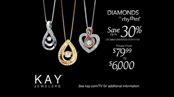 Kay Jewelers Diamonds in Rhythm TV Spot, 'Chase: Mother's Day: Save 30 Percent' - Thumbnail 7