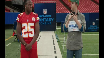 NFL Fantasy Football TV Spot, 'Zip Code' Featuring Jamaal Charles