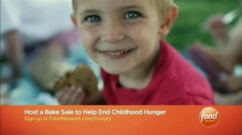 No Kid Hungry TV Spot, 'Food Network: Bake Sale' Featuring Duff Goldman - 89 commercial airings