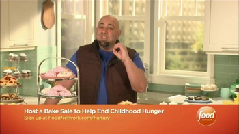 No Kid Hungry TV Spot, 'Food Network: Bake Sale' Featuring Duff Goldman - Thumbnail 4