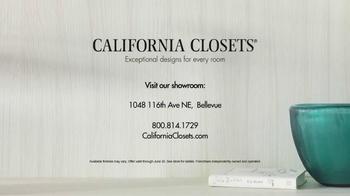California Closets Finish Upgrade Event TV Spot, 'Italian Inspired' - Thumbnail 10