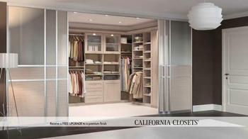 California Closets Finish Upgrade Event TV Spot, 'Italian Inspired' - Thumbnail 2
