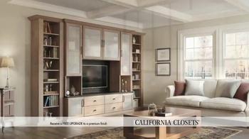 California Closets Finish Upgrade Event TV Spot, 'Italian Inspired' - Thumbnail 5