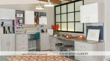 California Closets Finish Upgrade Event TV Spot, 'Italian Inspired' - Thumbnail 7