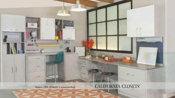 California Closets Finish Upgrade Event TV Spot, 'Italian Inspired' - Thumbnail 8