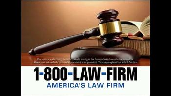 1-800-LAW-FIRM TV Spot, 'Transvaginal Mesh Deadline' - Thumbnail 1