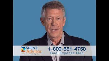 Select Advisor TV Spot, 'Funeral Expenses'