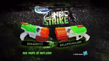 Nerf Zombie Strike Dreadshot and Splatterblast TV Spot, 'Wipe Zombies Out' - Thumbnail 6