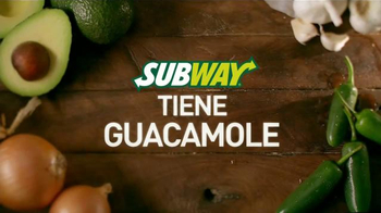Subway TV Spot, 'Subway Tiene Guacamole' [Spanish] - 445 commercial airings
