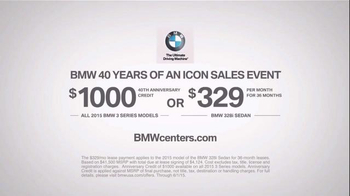 BMW 40 Years of an Icon Sales Event TV Spot, 'One Feeling' - Thumbnail 7