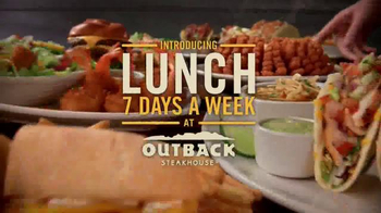 Outback Steakhouse TV Spot, 'Steak, Lobster and Lunch' - Thumbnail 10
