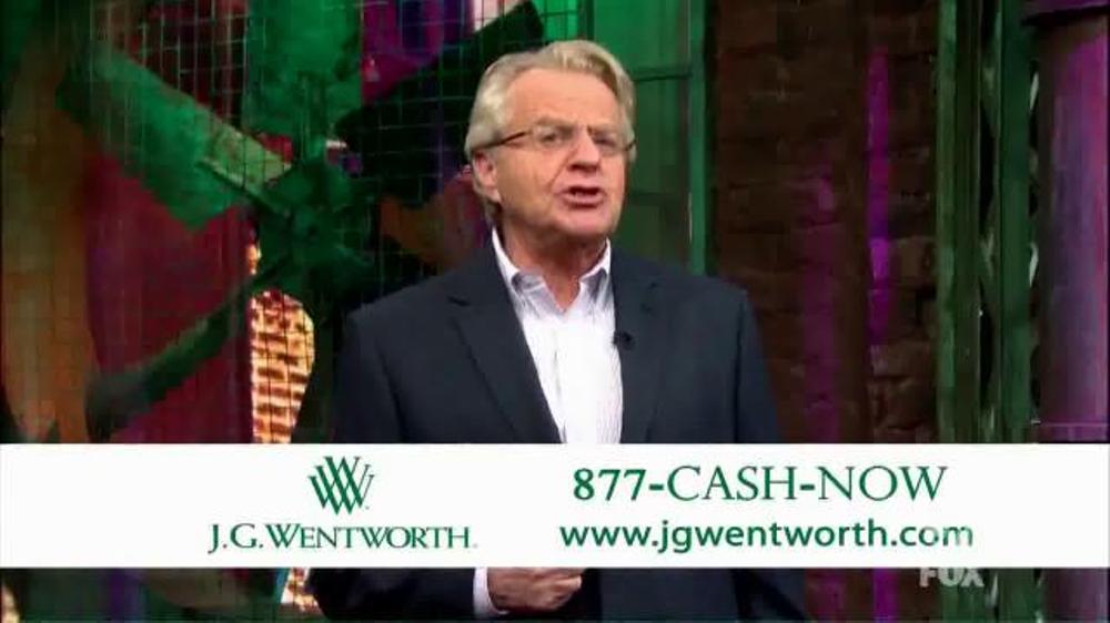 j g wentworth tv commercial jerry springer ispot tv