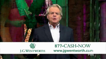 J.G. Wentworth TV Spot, 'Jerry Springer' - Thumbnail 1
