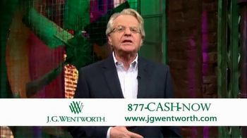 J.G. Wentworth TV Spot, 'Jerry Springer' - Thumbnail 10