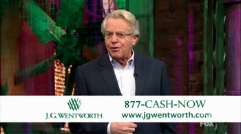 J.G. Wentworth TV Spot, 'Jerry Springer' - Thumbnail 3