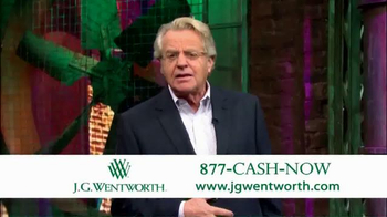 J.G. Wentworth TV Spot, 'Jerry Springer' - Thumbnail 5