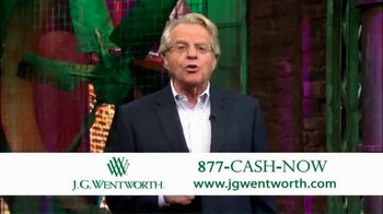 J.G. Wentworth TV Spot, 'Jerry Springer' - Thumbnail 6