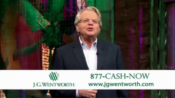 J.G. Wentworth TV Spot, 'Jerry Springer' - Thumbnail 9