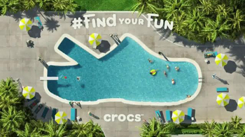 Crocs, Inc. TV Spot, 'Pool Shoes'