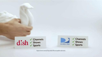 Dish Network TV Spot, 'Towels' - 1087 commercial airings