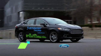 Ford Ecoboost Challenge Sales Event TV Spot, 'Real People: Fusion' - Thumbnail 1