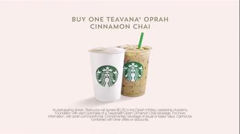 Starbucks Teavana Oprah Chai TV Spot, 'I Think I Can' Feat. Oprah Winfrey - Thumbnail 7