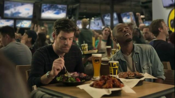 Buffalo Wild Wings TV Spot, 'Hardwood' Featuring Stephen Rannazzisi - Thumbnail 1