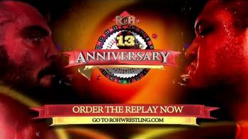 Rohwrestling.com TV Spot, '13th Anniversary Replay' - 2 commercial airings