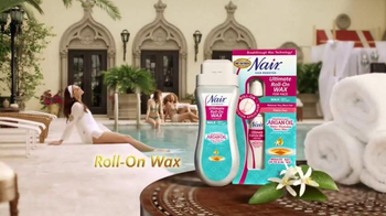 Nair TV Spot, \'Roll-On Wax\'