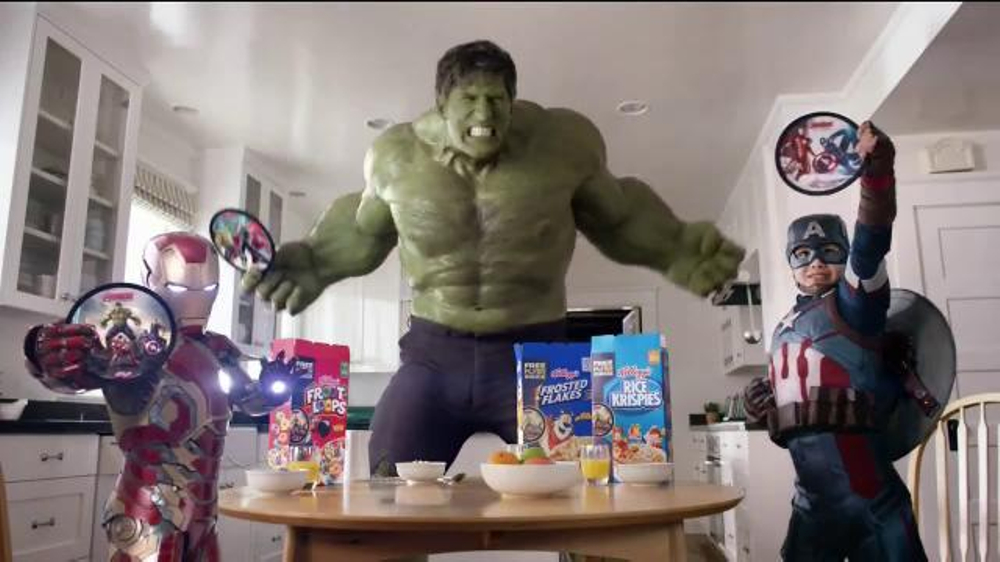 Kellogg's Avengers Flyers TV Commercial, 'The Avengers: Age of Ultron'