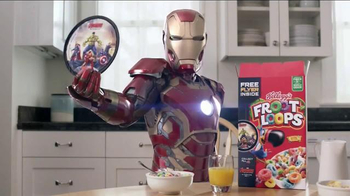 Kellogg's Avengers Flyers TV Spot, 'The Avengers: Age of Ultron' - Thumbnail 4