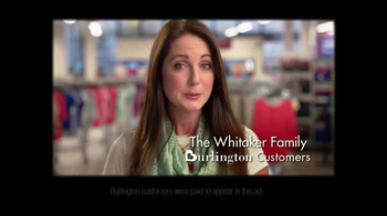 Burlington Coat Factory Spring TV Spot, 'The Whitaker Family' - 771 commercial airings