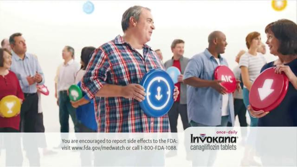 Invokana TV Commercial, 'You're Not Alone'
