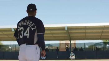 Major League Baseball TV Spot, '#THIS The King is Ready' Ft Felix Hernandez - Thumbnail 1