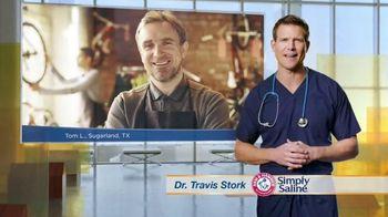 Simply Saline TV Spot, 'Congestion Questions: Tom'