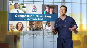 Simply Saline TV Spot, 'Congestion Questions: Tom' - Thumbnail 1